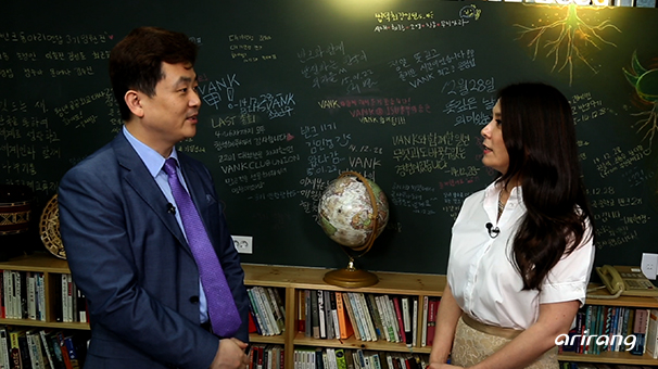 Park Ki-tae, the Founder of VANK promoting Korea through private diplomacy