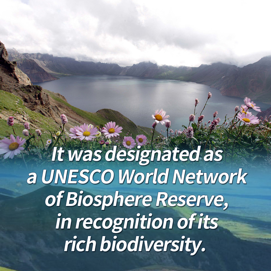 It was designated as a UNESCO World Network of Biosphere Reserve, in recognition of its rich biodiversity.