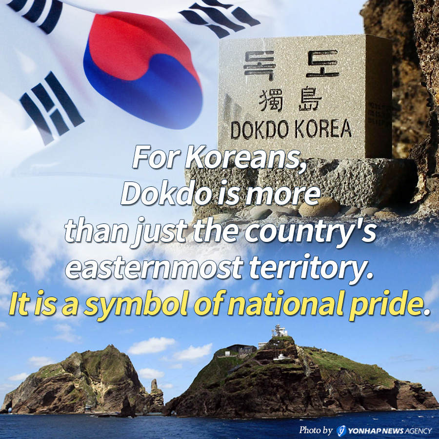 For Koreans, Dokdo is more than just the country's easternmost territory. It is a symbol of national pride.