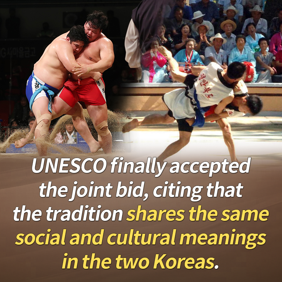 UNESCO finally accepted the joint bid, citing that the tradition shares the same social and cultural meanings in the two Koreas.
