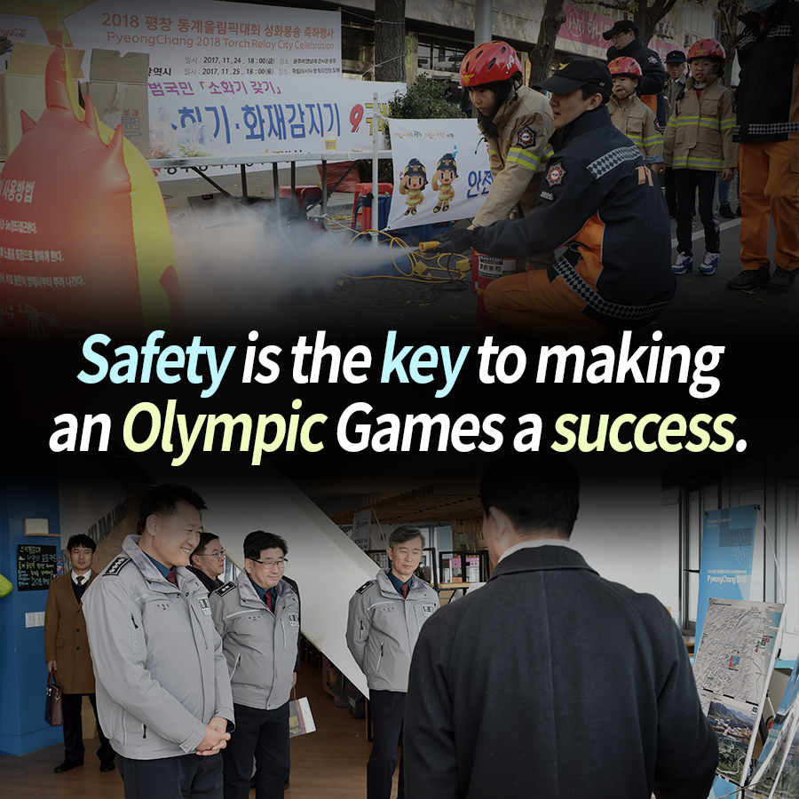 Safety is the key to making an Olympic Games a success.