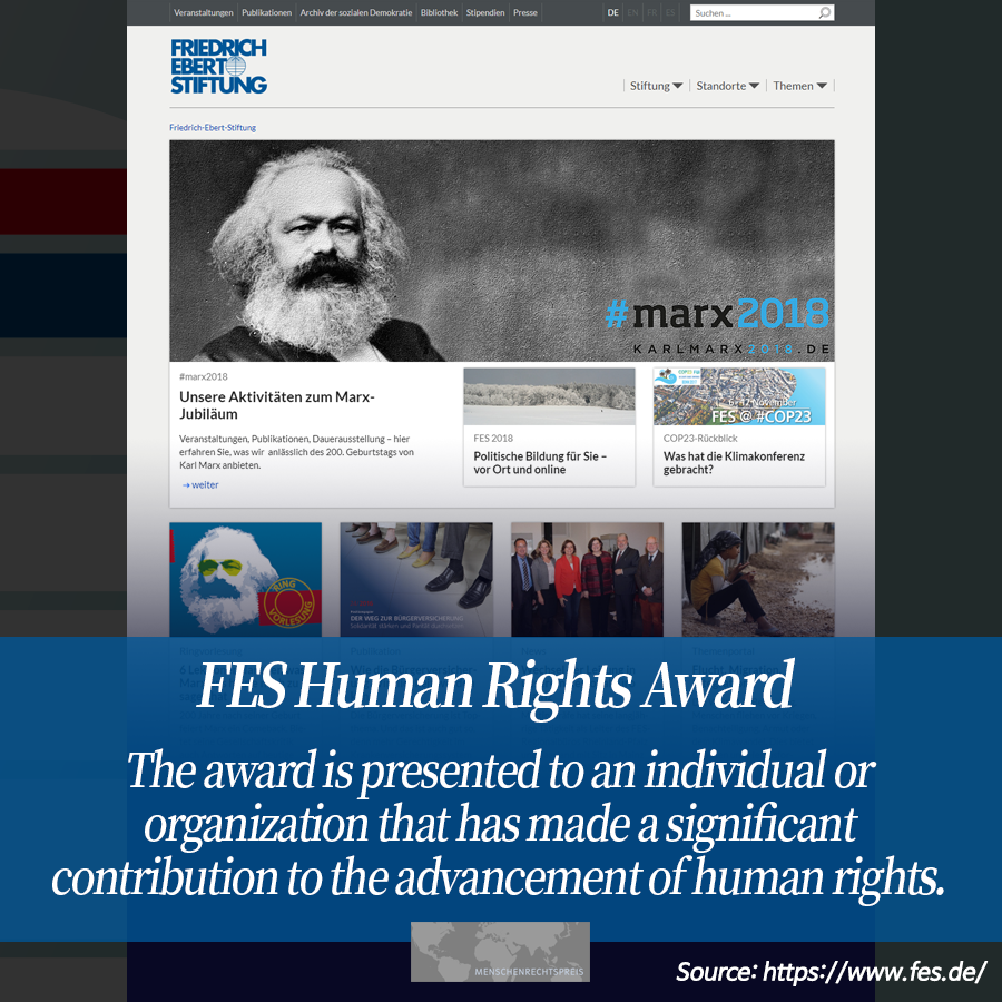 FES Human Rights Award <br>