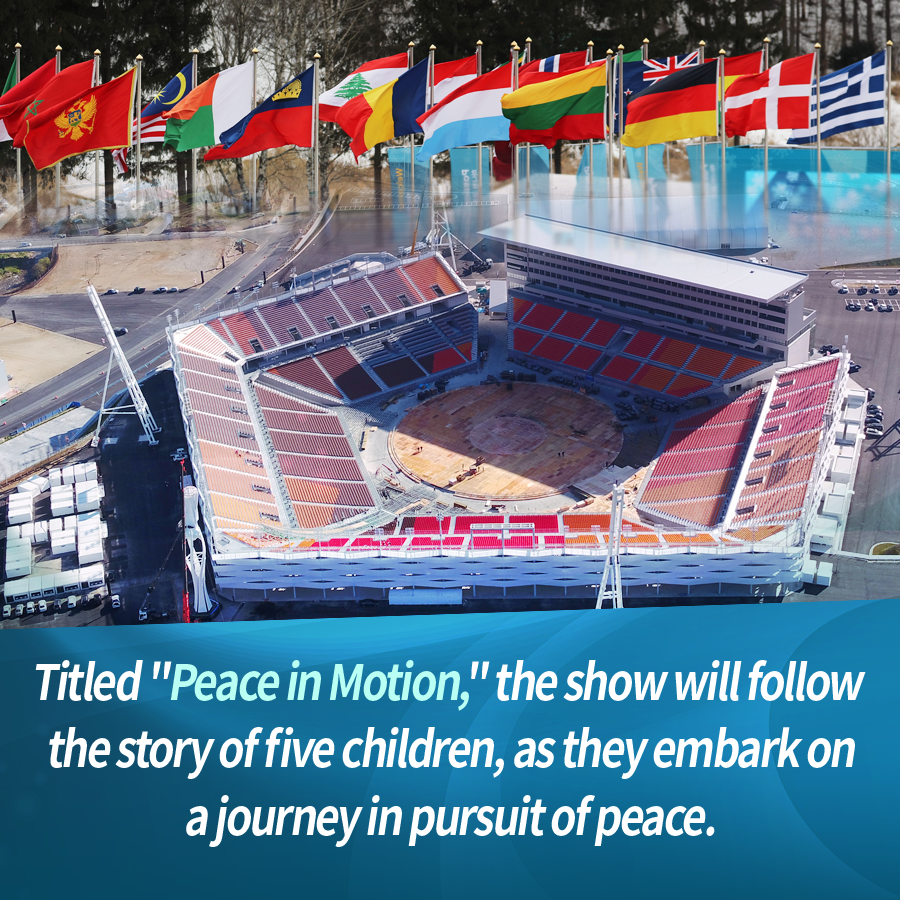 "Titled ""Peace in Motion,"" the show will follow the story of five children, as they embark on a journey in pursuit of peace."