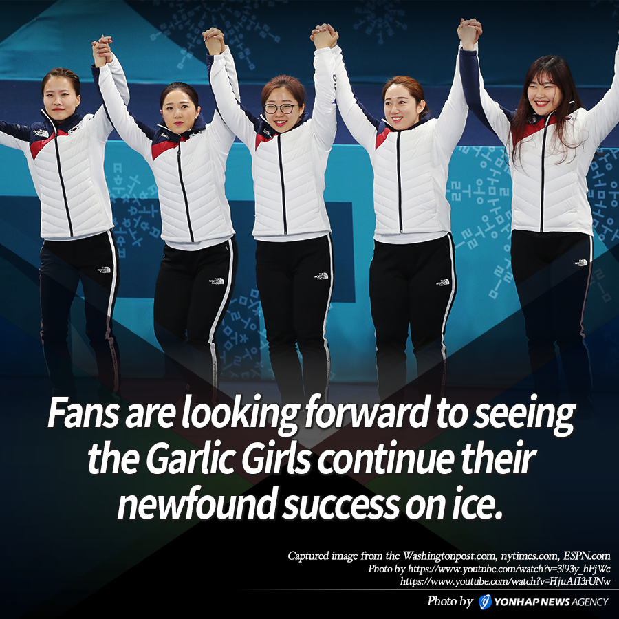 Fans are looking forward to seeing the Garlic Girls continue their newfound success on ice.