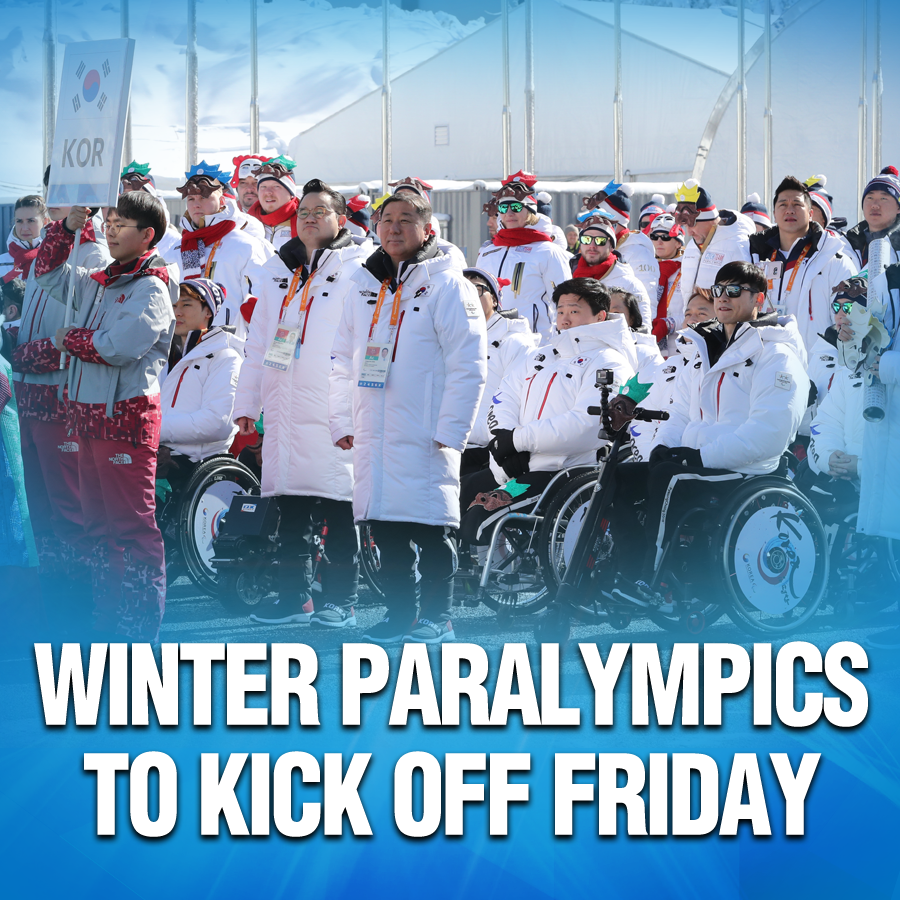 Winter Paralympics to Kick Off Friday