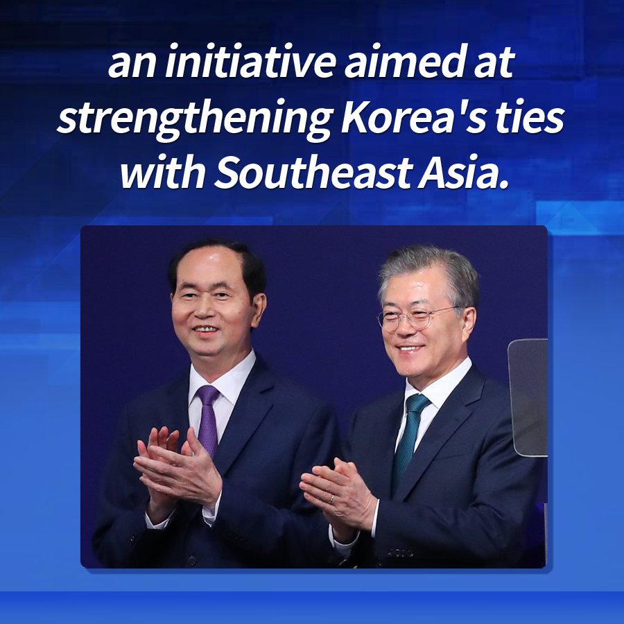 an initiative aimed at strengthening Korea's ties with Southeast Asia.