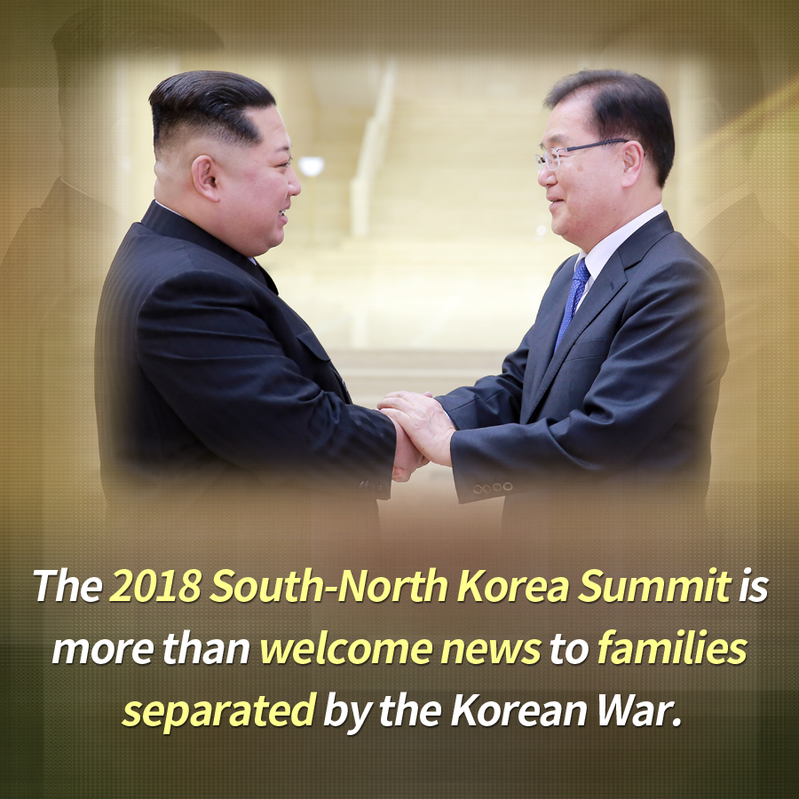 The 2018 South-North Korea Summit is more than welcome news to families separated by the Korean War.