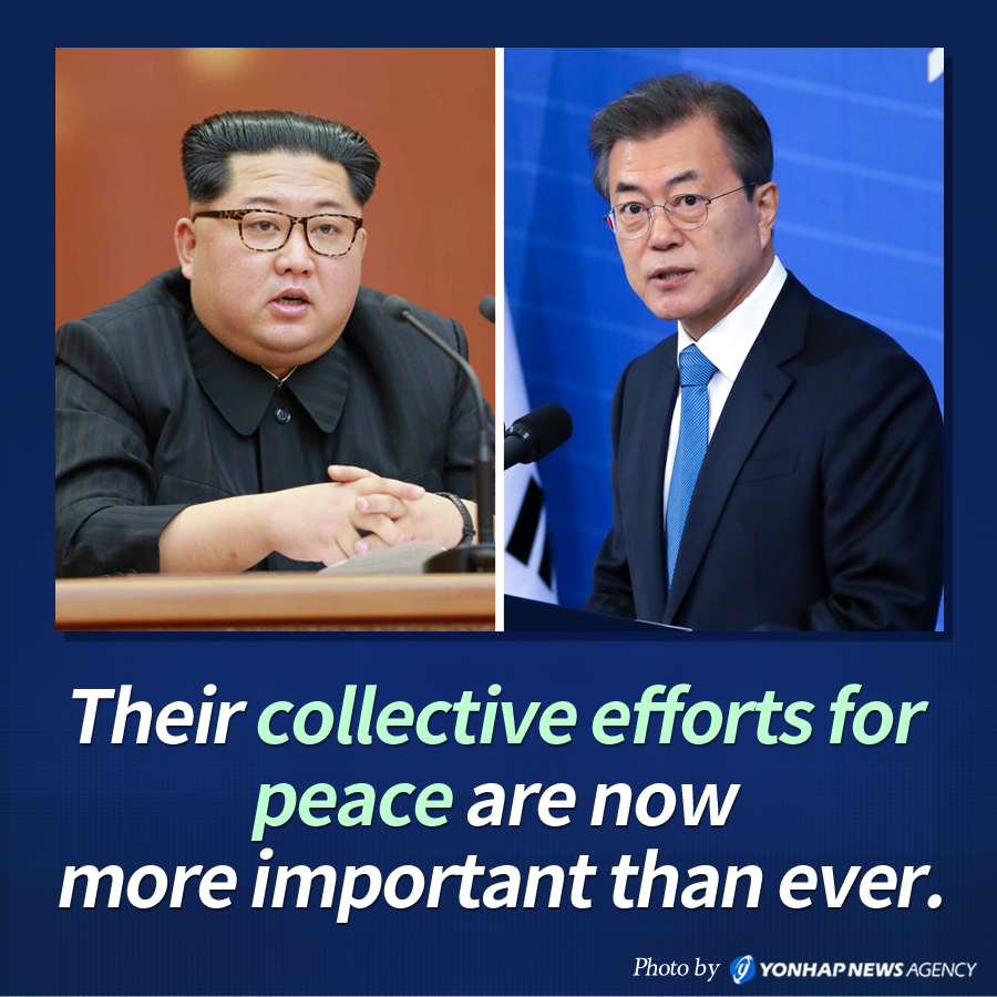 Their collective efforts for peace are now more important than ever.