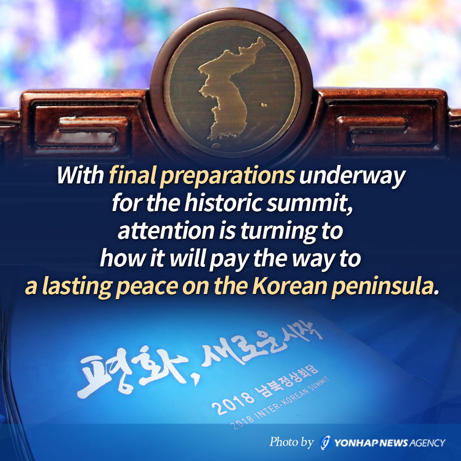 With final preparations underway for the historic summit, attention is turning to how it will pay the way to a lasting peace on the Korean peninsula.