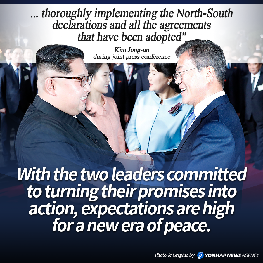 &#34;... thoroughly implementing the North-South declarations and all the agreements that have been adopted&#34;<br>
