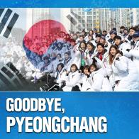 Goodbye, PyeongChang