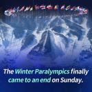 Winter Paralympics Come to a Close