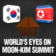 World's Eyes on Moon-Kim Summit