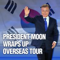 President Moon Wraps Up Overseas Tour