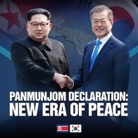 Panmunjeom Declaration: New Era of Peace