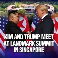 Kim and Trump Meet at Landmark Summit in Singapore
