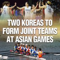Two Koreas to Form Joint Teams at Asian Games