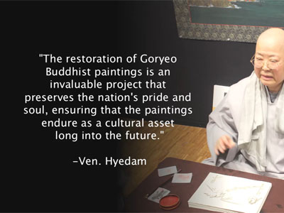 The Revival of a Long Lost Art: Goryeo Buddhist Paintings - Venerable Wol Je Lee Hye Dam Ep158